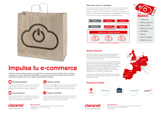 Impulsa tu e-commerce con Claranet