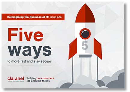 eBook Five ways to move fast and stay secure