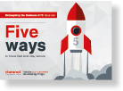 eBook: Five ways to move fast and stay secure