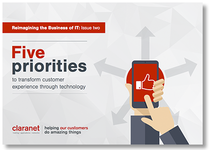 eBook Five priorities to transform customer experience through technology