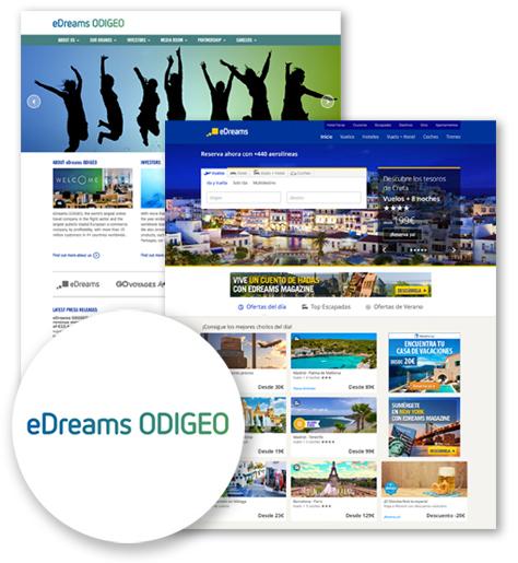 eDreams - Caso de éxito de Viajes y ocio