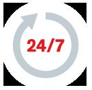 Disponibilidad del servicio de hosting de web corporativas